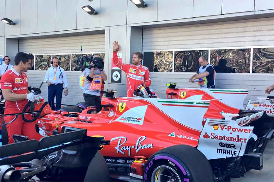 Sebastian Vettel Sochi 207