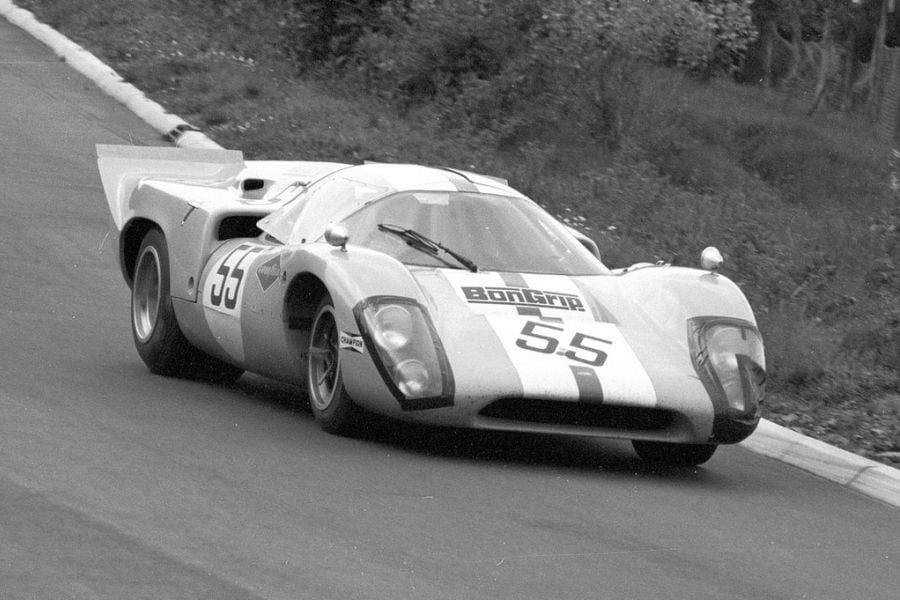 In 1969, Herbert Müller was sharing a Lola with Jo Bonnier