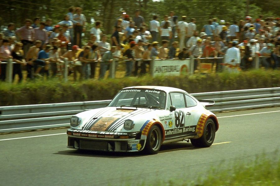 Herbert Müller scored class victory in his last Le Mans race, driving the #82 Porsche 934