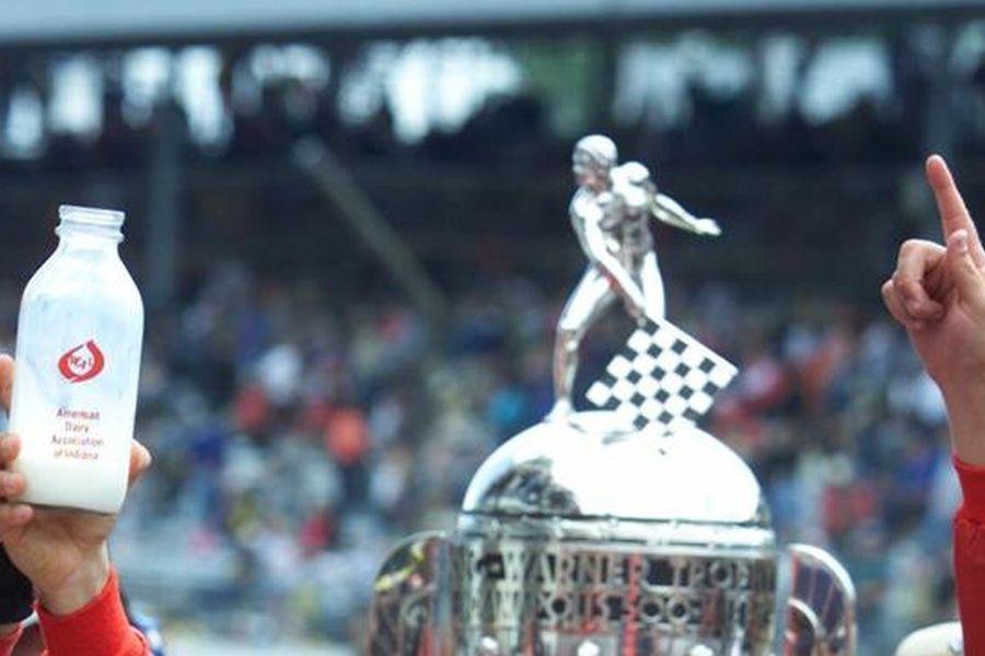 Indianapolis 500, bottle of milk, Borg-Warner Trophy