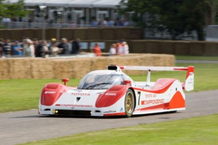 Toyota TS010 at Goodwood Festival of Speed