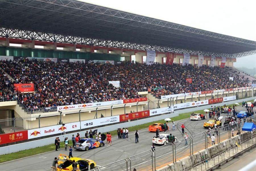 Zhuhai International Circuit, grandstands