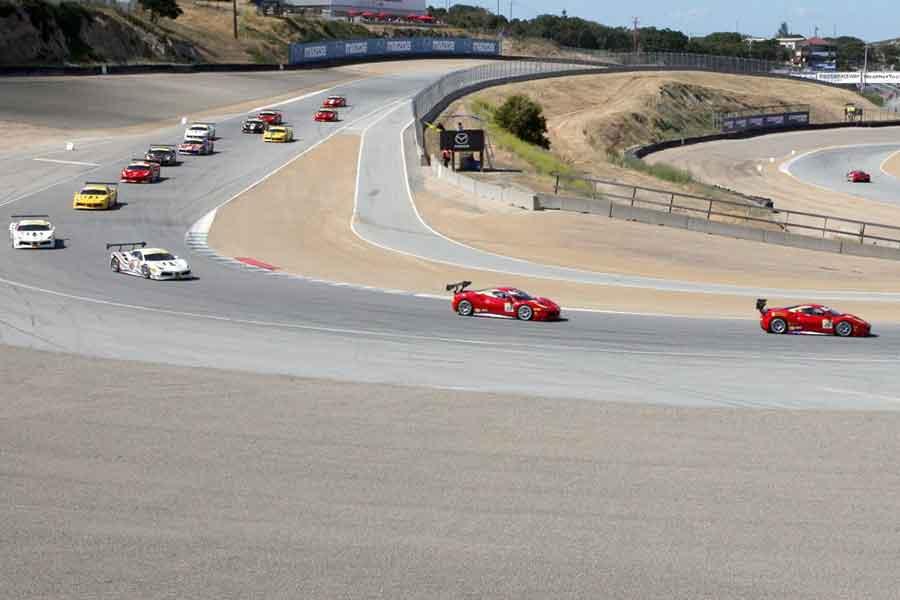 Ferrari Challenge North America At Laguna Seca Day 1 Recap Snaplap