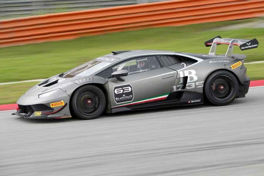Lamborghini Huracán LP 620-2 Super Trofeo 2015