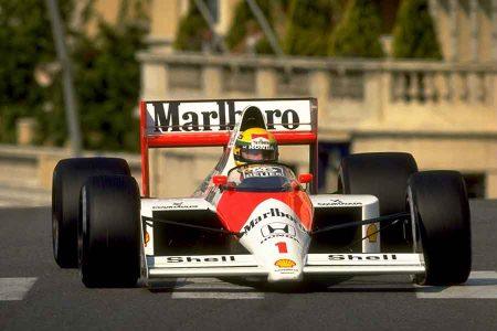 McLaren MP4/5 1989 Honda formula ayrton senna monaco v10 racing cars