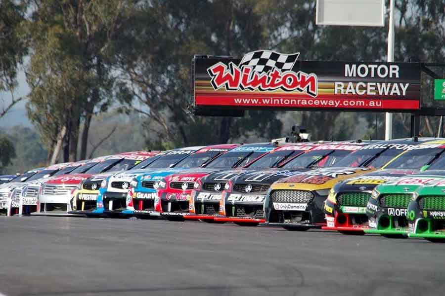 Winton Motor Raceway V8 Supercars