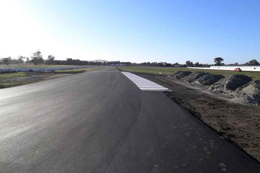 Winton Motor Raceway, racing track