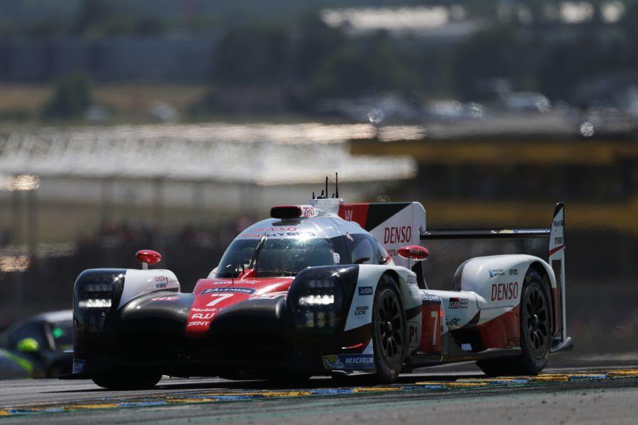 2017 24h Le Mans, #7 Toyota TS050 Hybrid