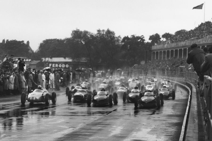 Aintre Motor Racing Circuit, 1954