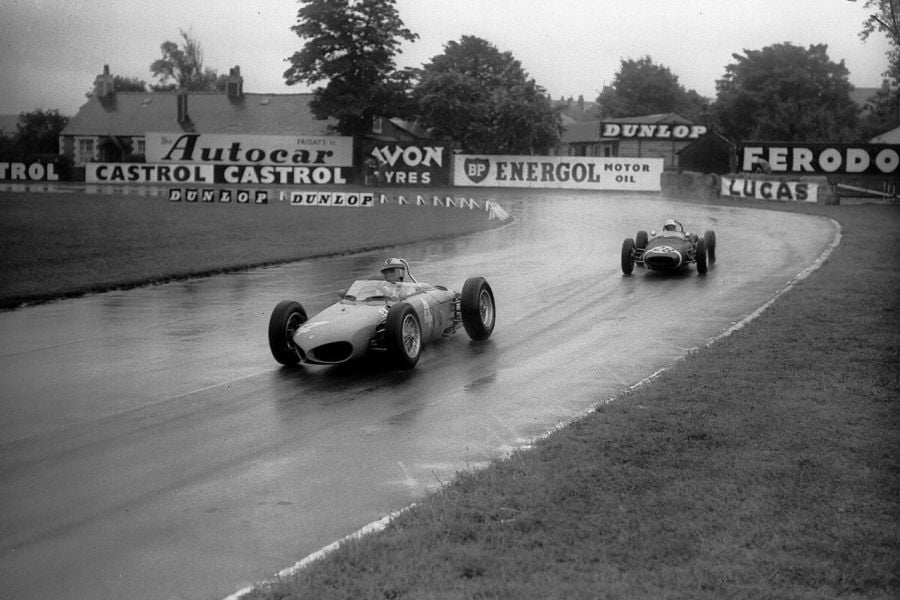 Wolfgang von Trips vs Stirling Moss, 1961, British Grand Prix