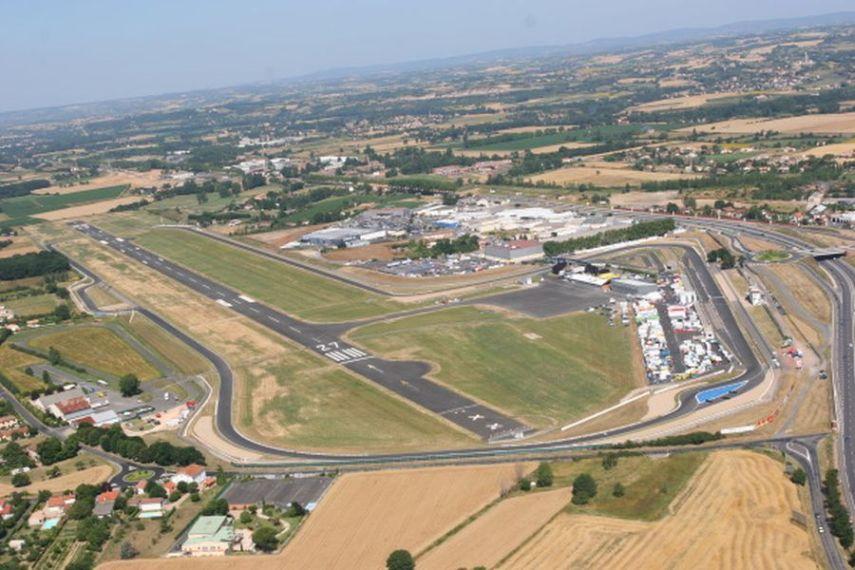 Circuit d'Albi aerial view