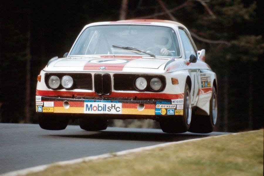 BMW 3.0 CSL racing in European Touring Car Championship