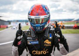 Lotus/Charouz Racing System, Pietro Fittipaldi, Silverstone, 2017 Formula V8