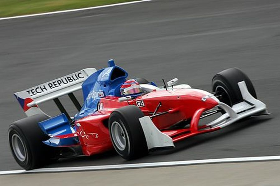 A1 Grand Prix series Team Czech Republic