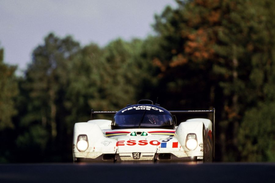 #3 Peugeot 905 Evo 1B at 1993 24 hours of Le Mans