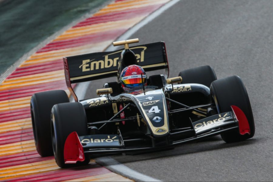 Pietro Fittipaldi at Motorland Aragon