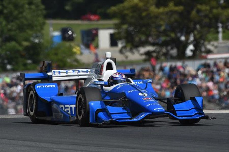 Scott Dixon wins at Road America for the first time in a career