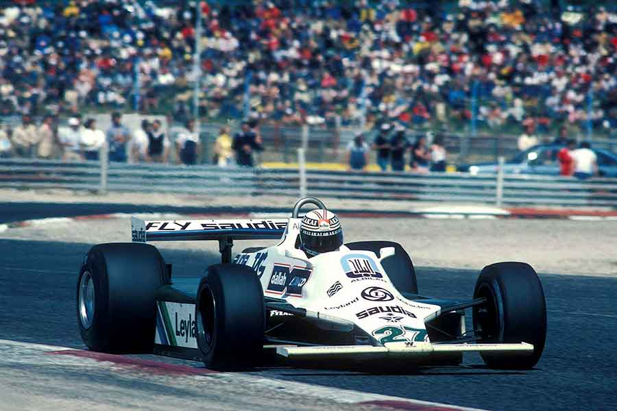 Alan Jones Williams FW07B grand prix racing cars formula 2017