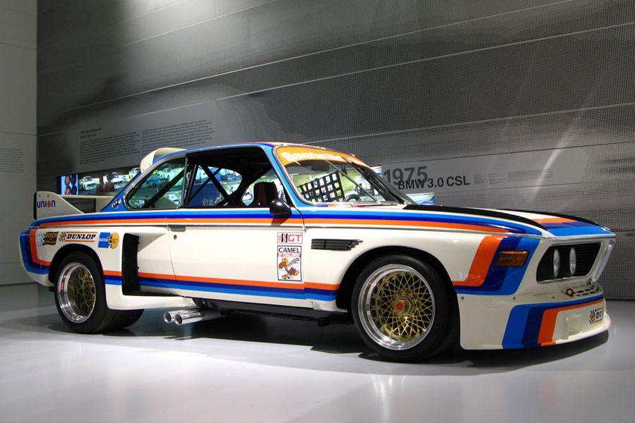 BMW 3.0 CSL sideview