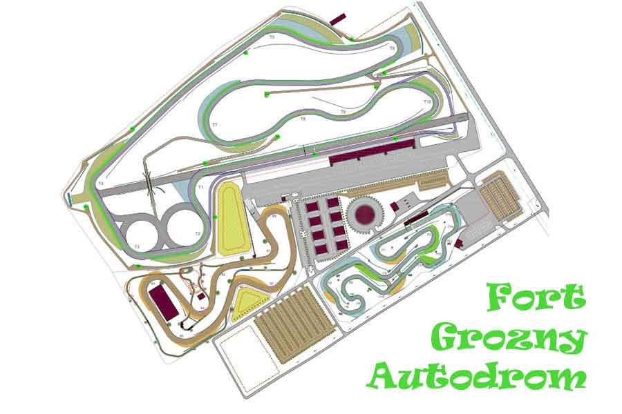 Fort Grozny Autodrom log racing, youtube, english series, автодром крепость на, race circuit