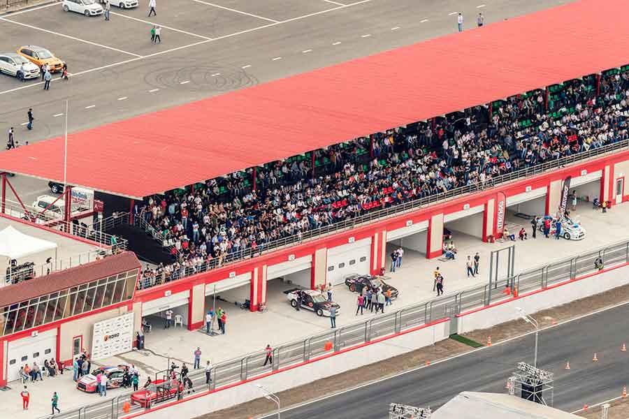 Fort Grozny Autodrom автодром racing 2017 race circuit