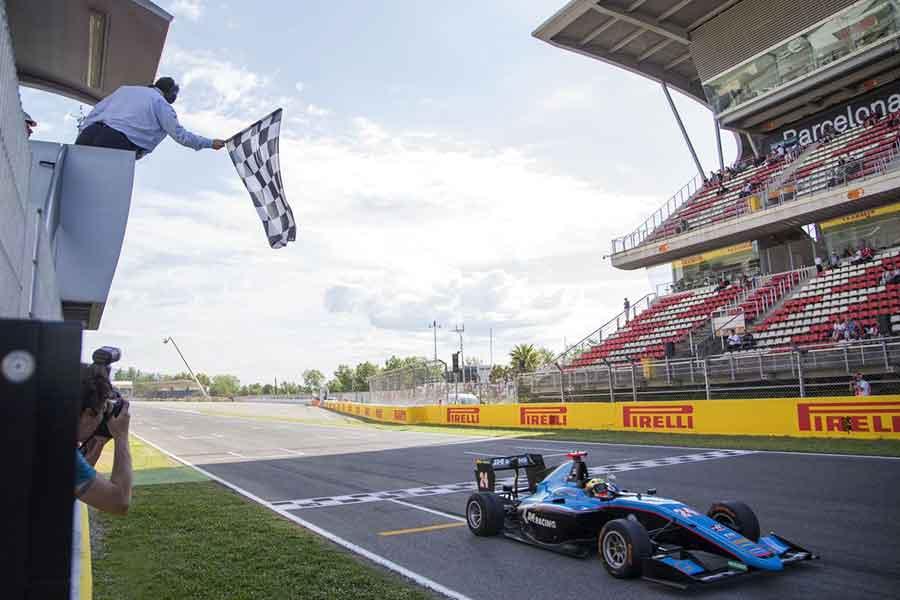 Jenzer Motorsport Arjun Maini GP3 series grand prix share