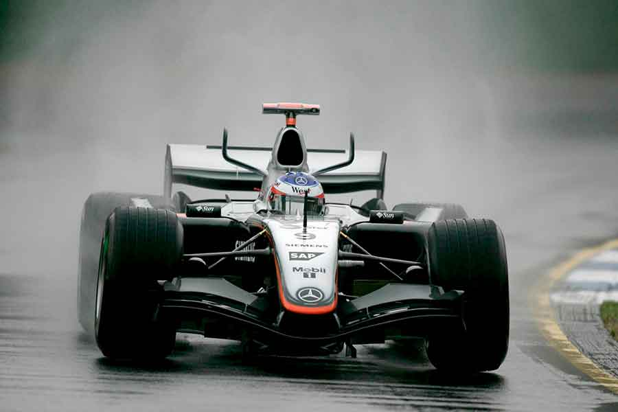 McLaren MP4-20 juan pablo 2005 v10 mercedes benz cars kimi alonso qualfying lap spa ferrari
