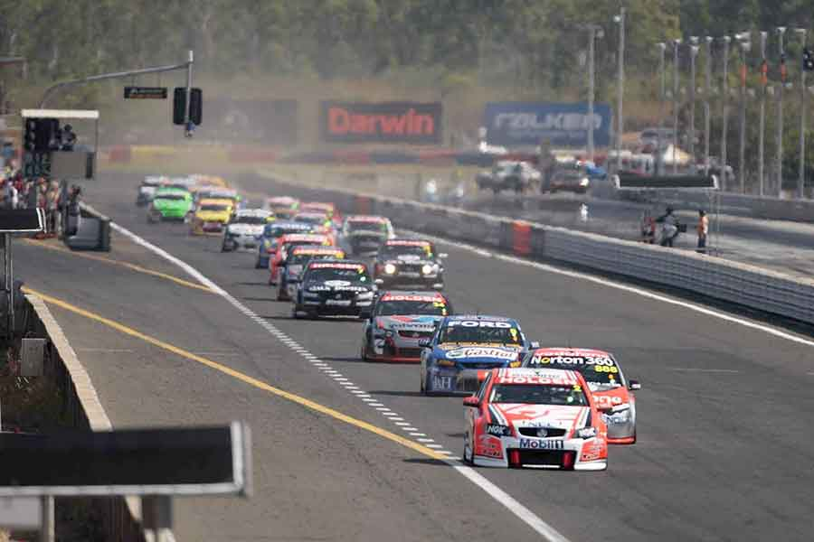 Hidden Valley Raceway, championship, V8 supercar race, motorsports