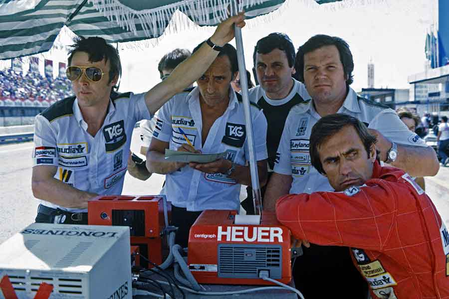Williams FW07 Cosworth 1981 formula grand prix racing cars