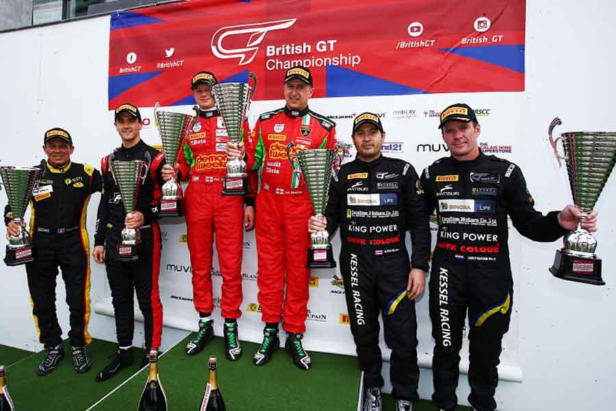 2017 British GT podium race 1