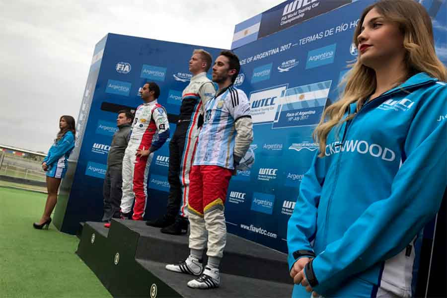 Yann Ehrlacher podium argentina wtcc
