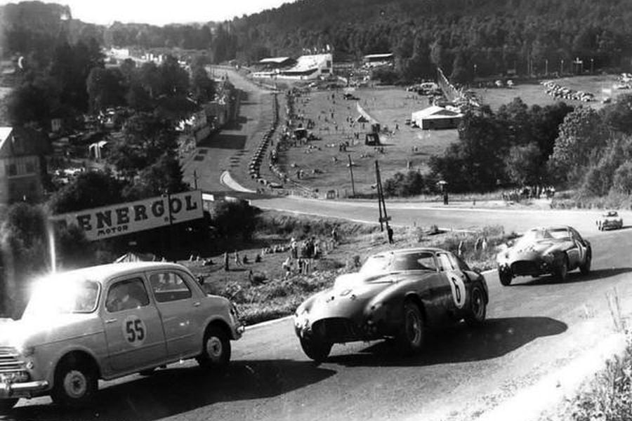 1953, Giuseppe Farina, Mike Hawthorn, 24 hours of Spa, black and white