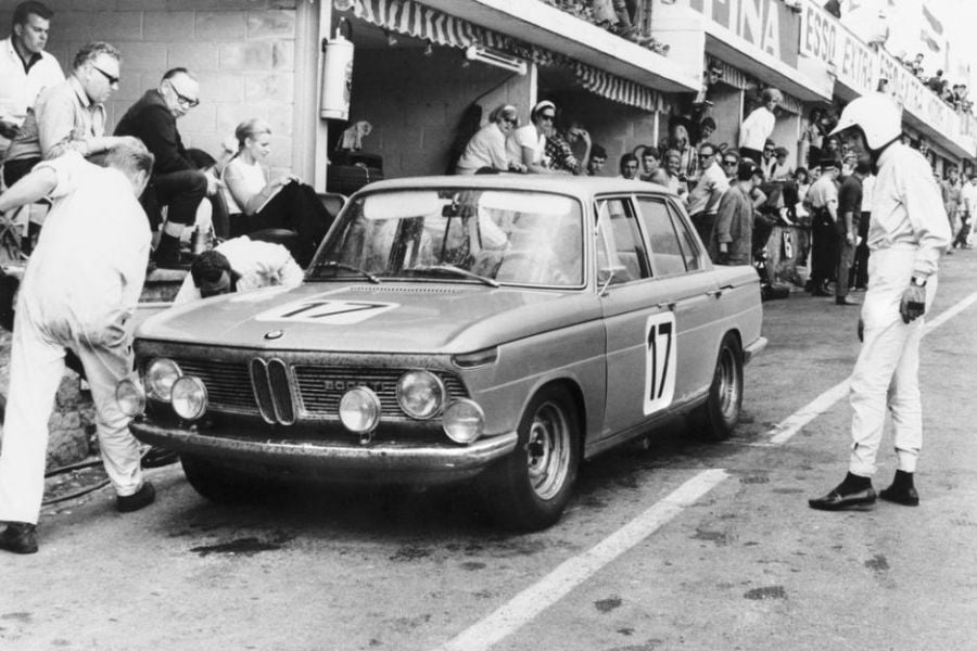 BMW 2002ti, the victorious car of Huberh Hahne and Jacky Ickx in 1966