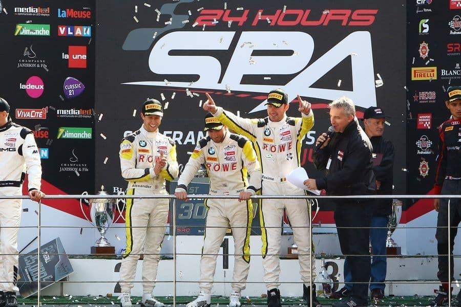 24 Hours of Spa 2016 winners Rowe Racing BMW