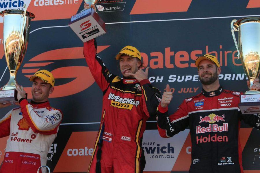 Chaz Mostert wins Ipswich SuperSprint
