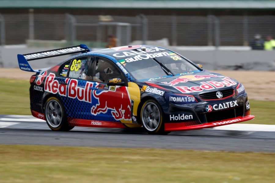 Jamie Whincup at Townsville Street Circuit