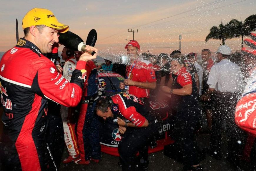 105th victory for Jamie Whincup