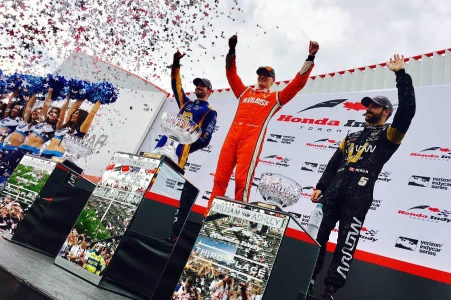 2017 Honda Indy Toronto podium