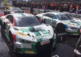 Land Motorsport's Audis at Zandvoort, ADAC GT Masters