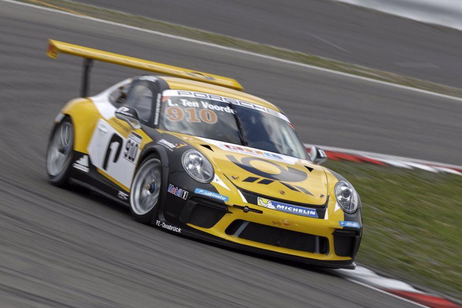 Larry ten Voorde, Porsche Carrera Cup Germany Nurburgring
