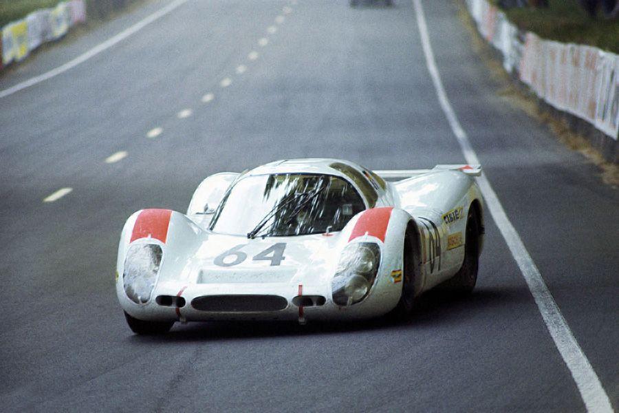 The #64 Porsche 908/01 Coupe,1969, 24h Le Mans