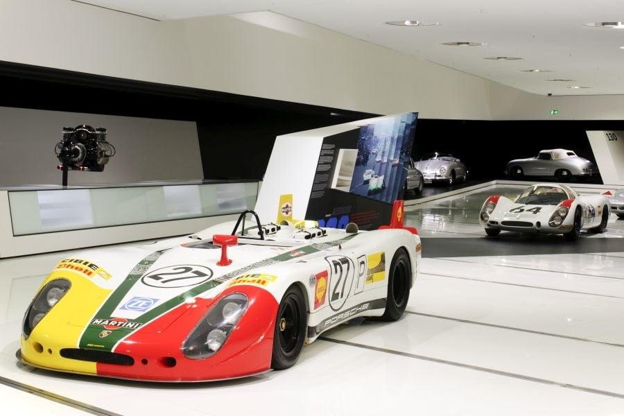 Porsche 908, Porsche Museum