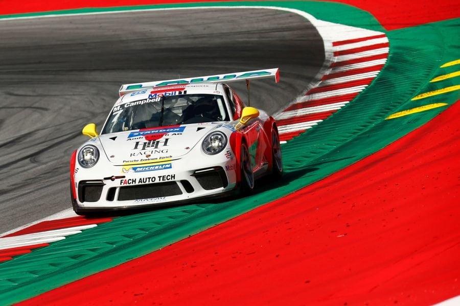 Porsche Supercup, Red Bull Ring, Matt Campbell