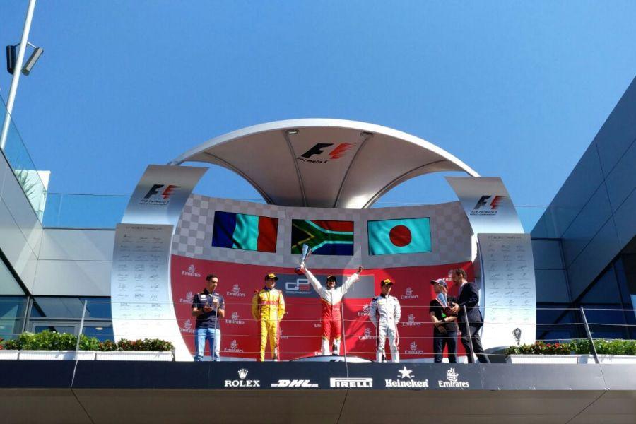 GP3 Series Spielberg, race 2 podium