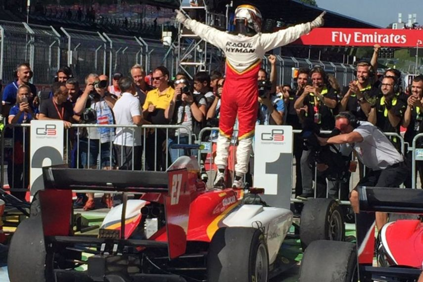 GP3 Series, Raoul Hyman