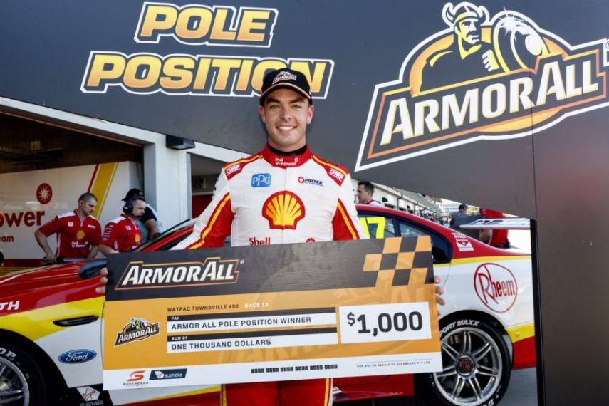 Scott McLaughlin, pole position at Townsville