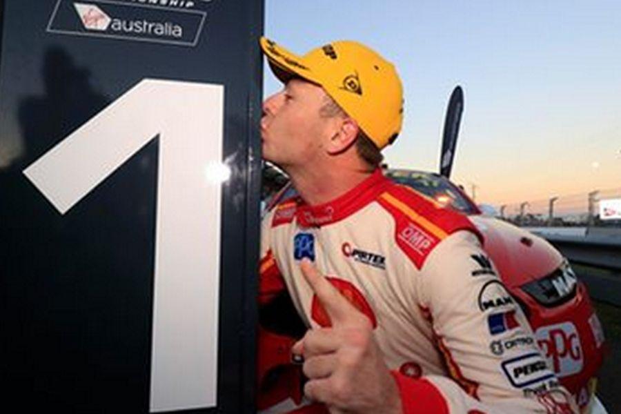 Scott McLaughlin wins race 1 at Townsville