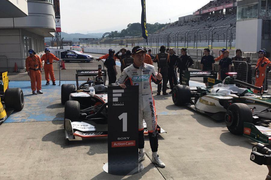 Hiroaki Ishiura wins at Fuji Speedway