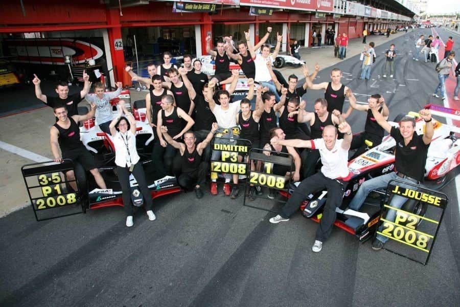 2008 Formula Renault 3.5 Series champions