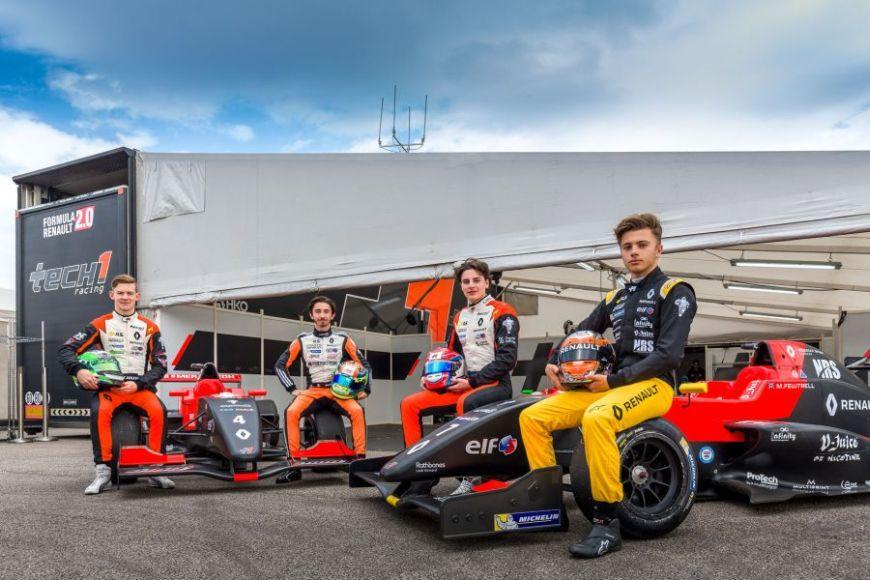 Tech 1 Racing, 2017 Formula Renault Eurocup